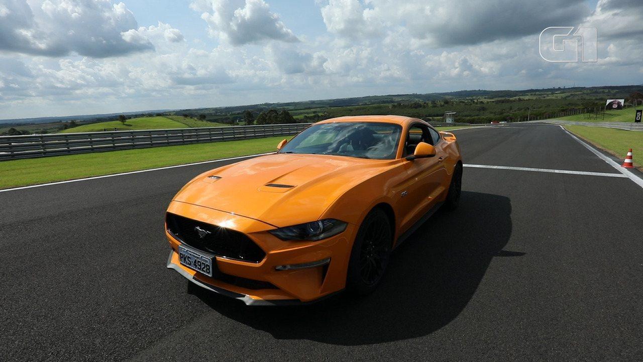 Veja como anda o novo Ford Mustang na pista