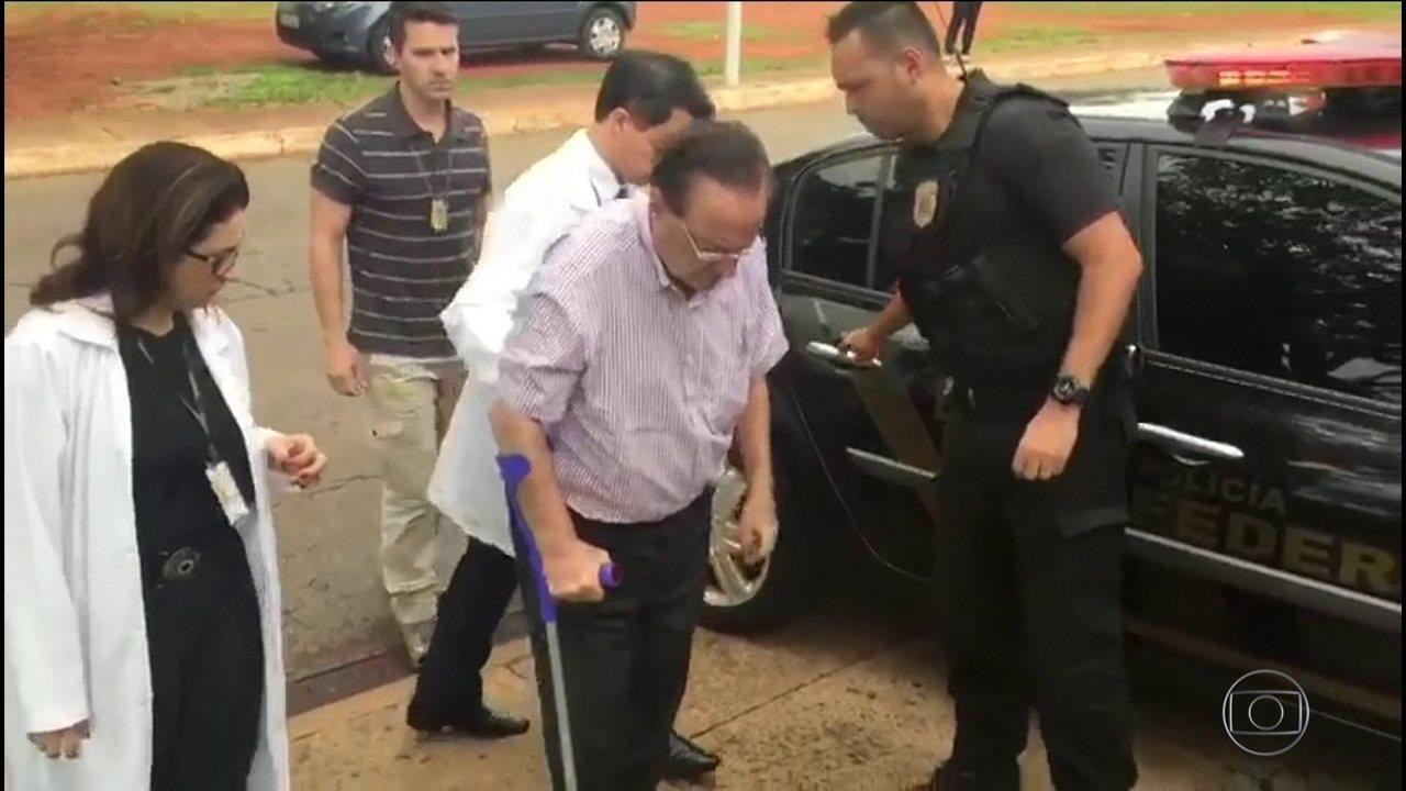 Paulo Maluf passa mal no presídio e é internado em Brasília