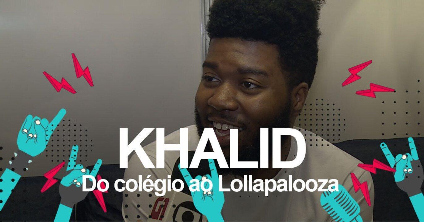 Khalid fala ao G1 sobre 'American teen'