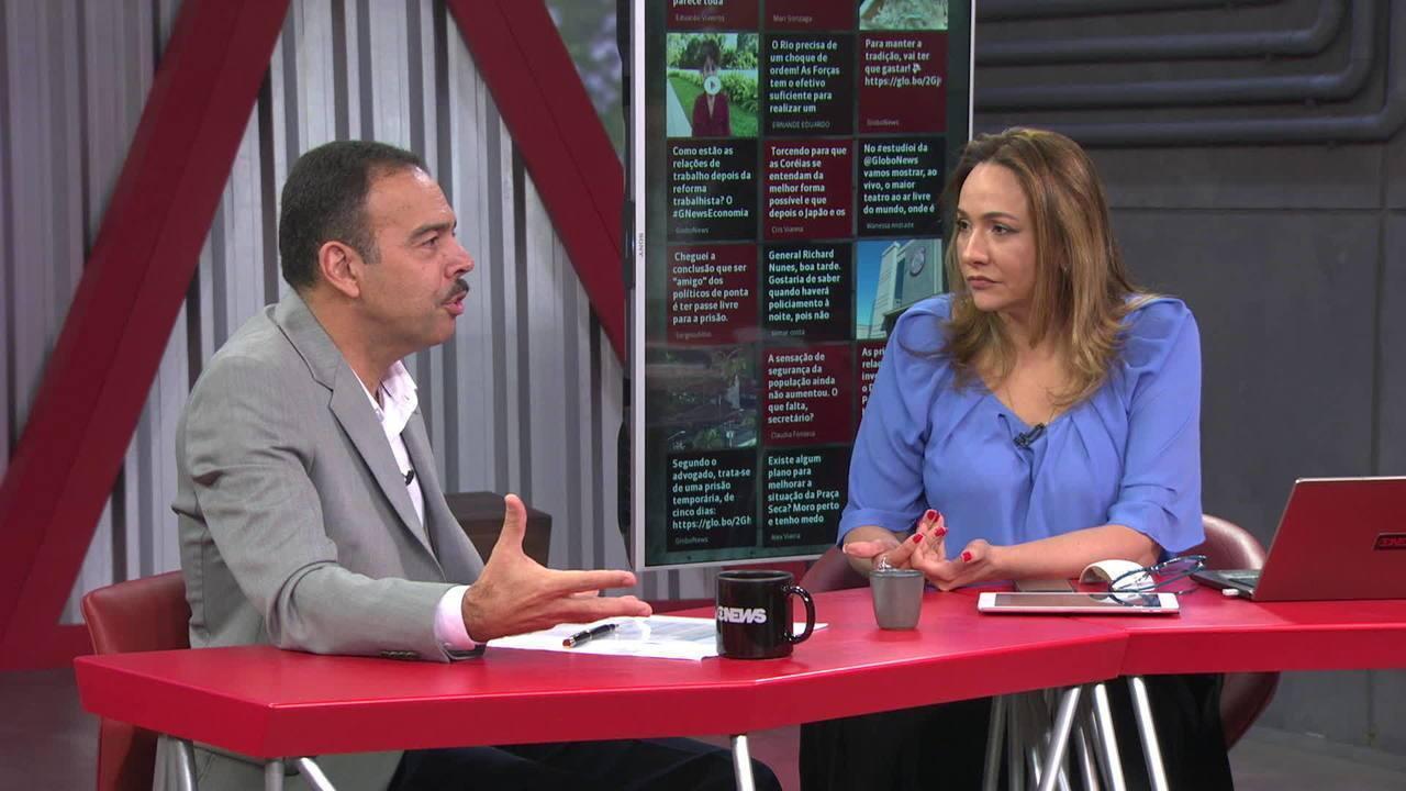 Secretário de Segurança do Rio comenta o uso de fuzis por criminosos