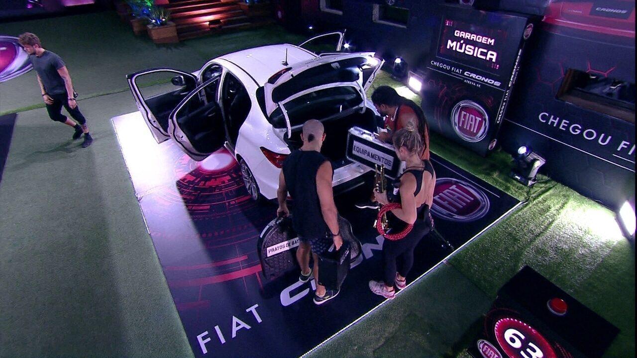 Começa mais uma rodada da Prova do Líder Fiat Cronos