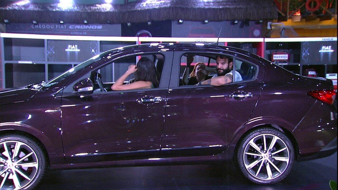 Prova Fiat Cronos na Bagagem ultrapassa cinco horas