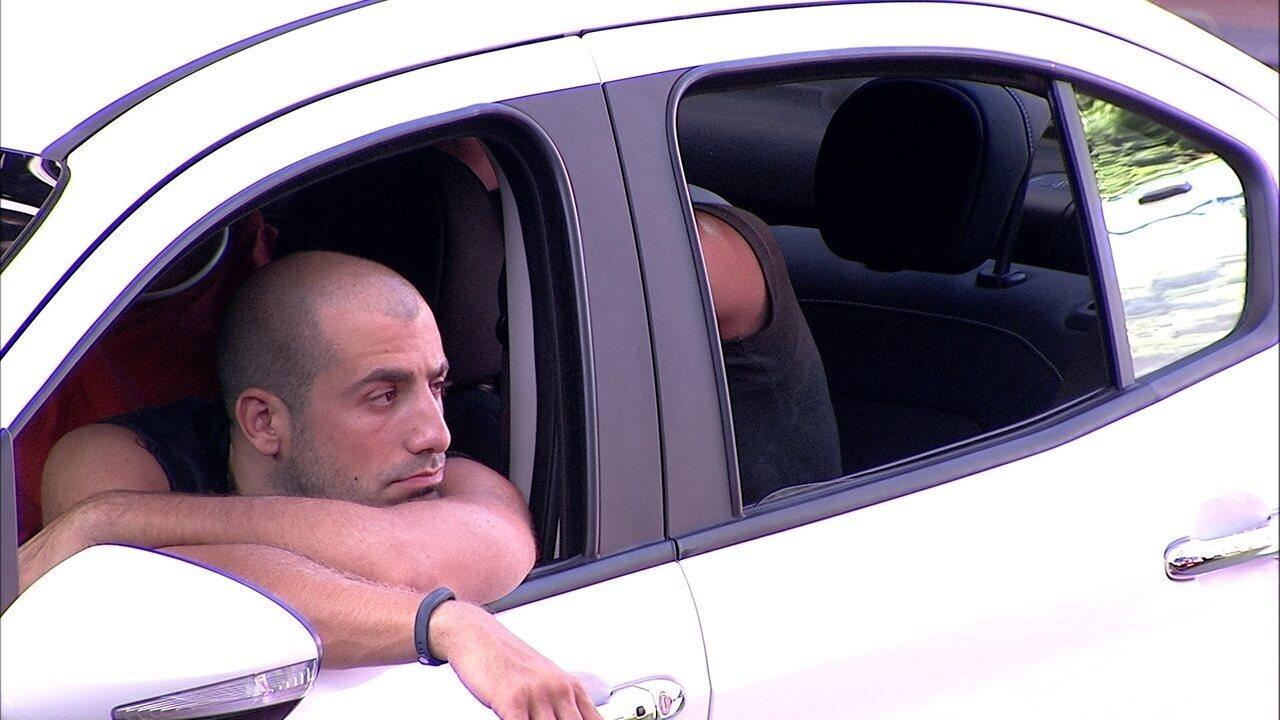 Chega a oito horas de duração a Prova do Líder Fiat Cronos na Bagagem