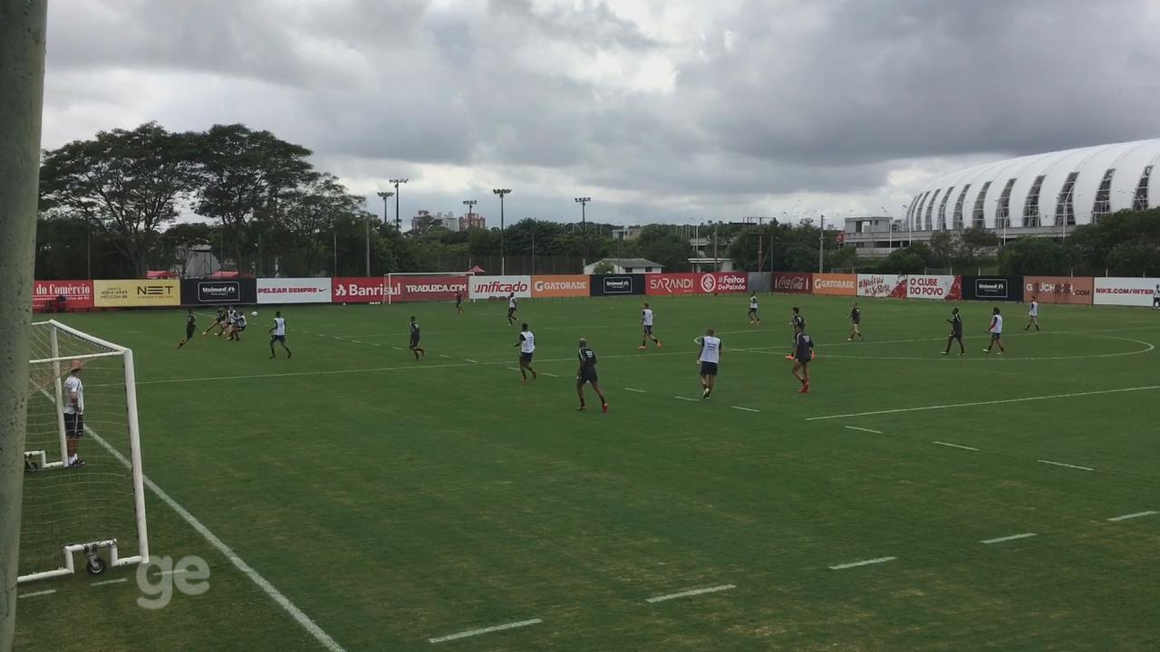 Odair define Inter com Wellington Silva e Ruan para pegar o Caxias em jogo-treino