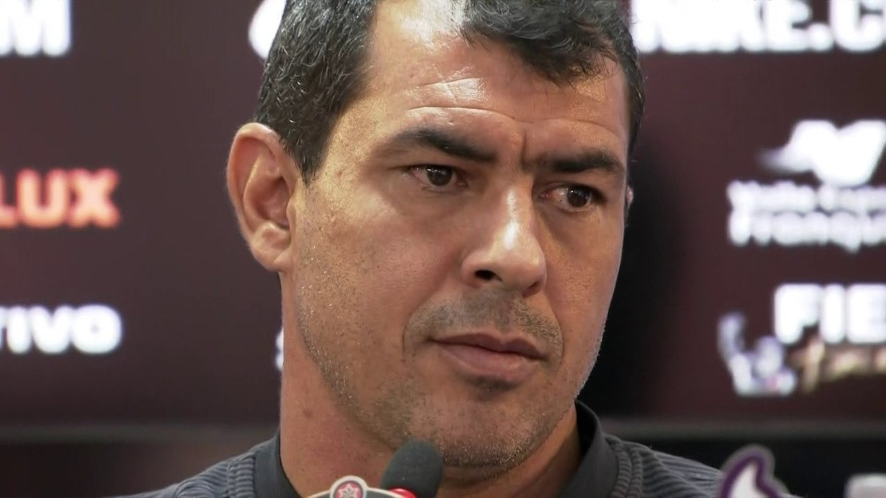 Veja a entrevista de Fábio Carille, do Corinthians, antes de final do Paulistão