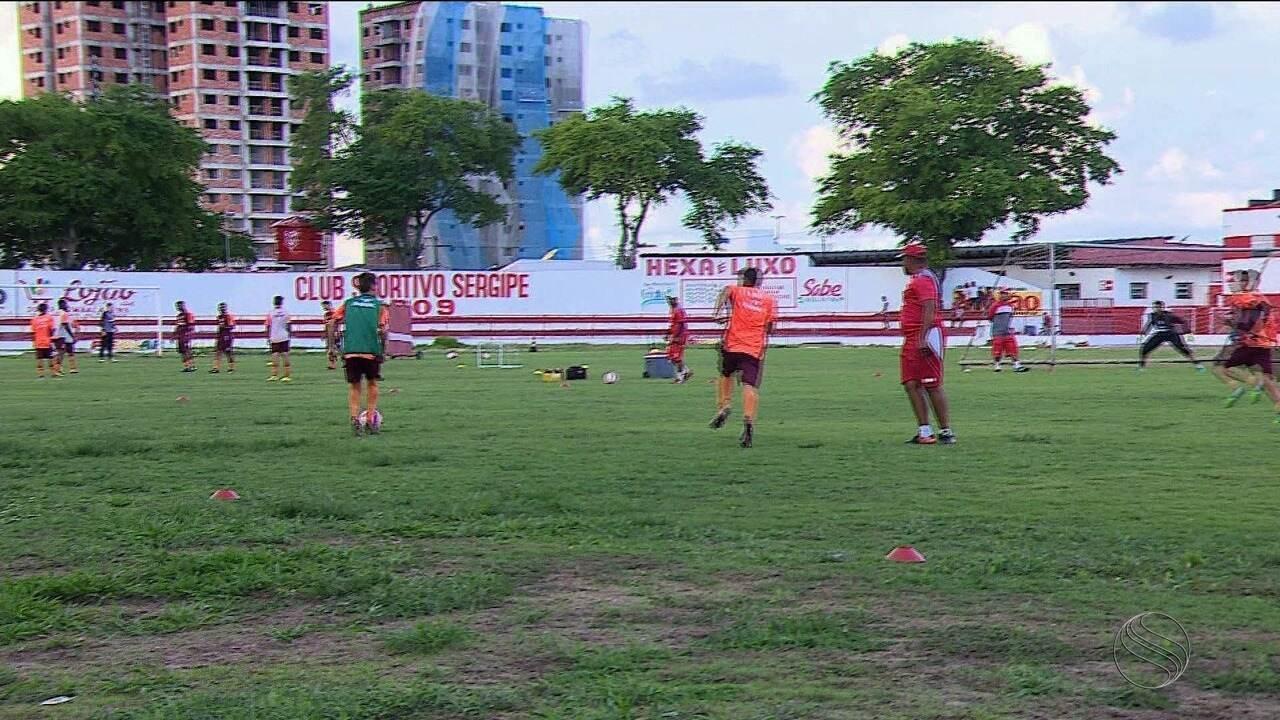Sergipe terá mudanças no time titular para enfrentar o Lagarto no Batistão