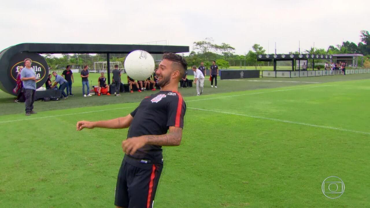 'O Dominador': estreia do quadro é com os atletas do Sport Clube Corinthians Paulista. Assista e participe!