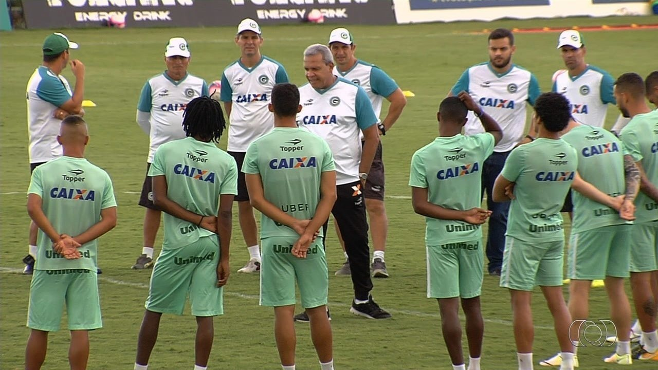 Veja a preparação do Goiás para o jogo de ida da final