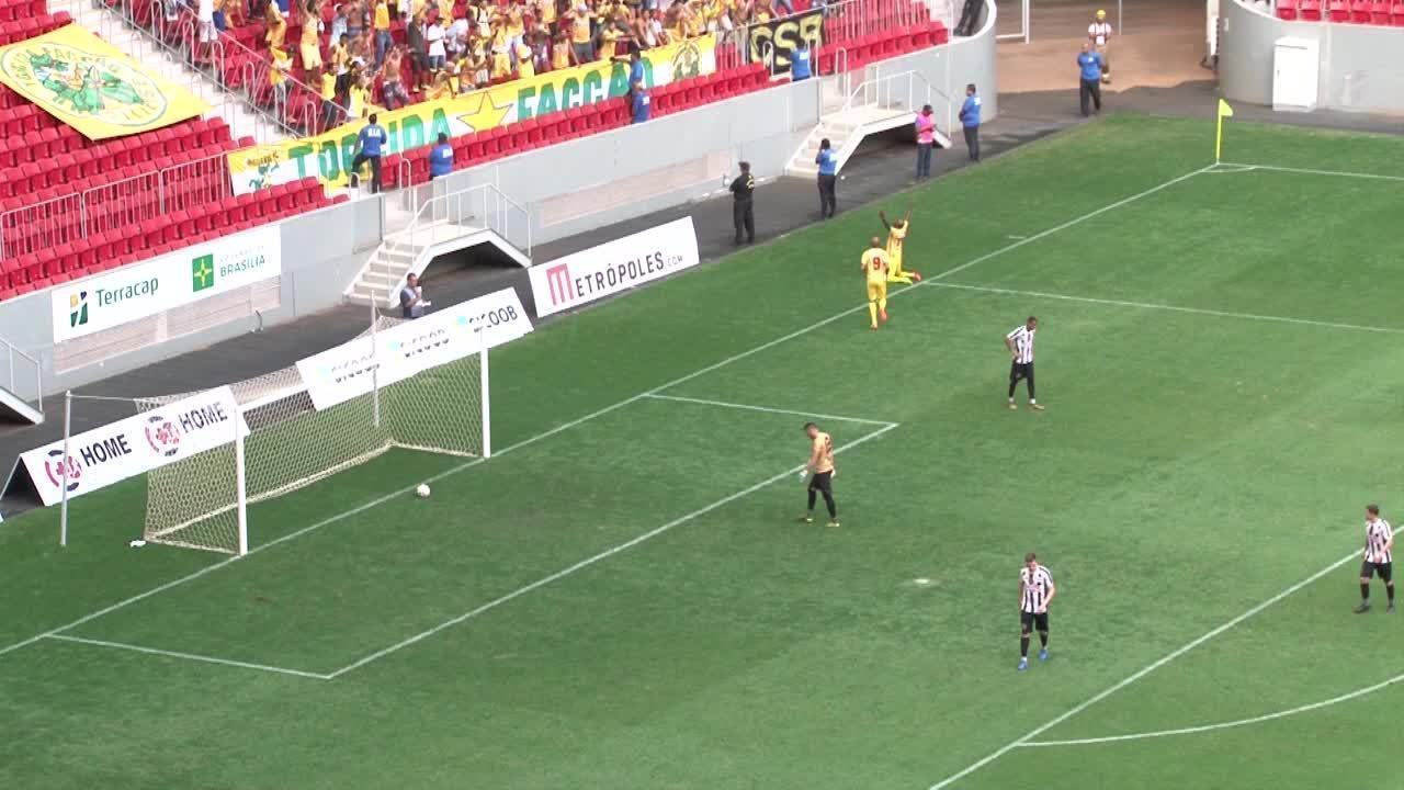 O gol de Sobradinho 0 x 1 Brasiliense pela final do Campeonato Brasiliense 2018