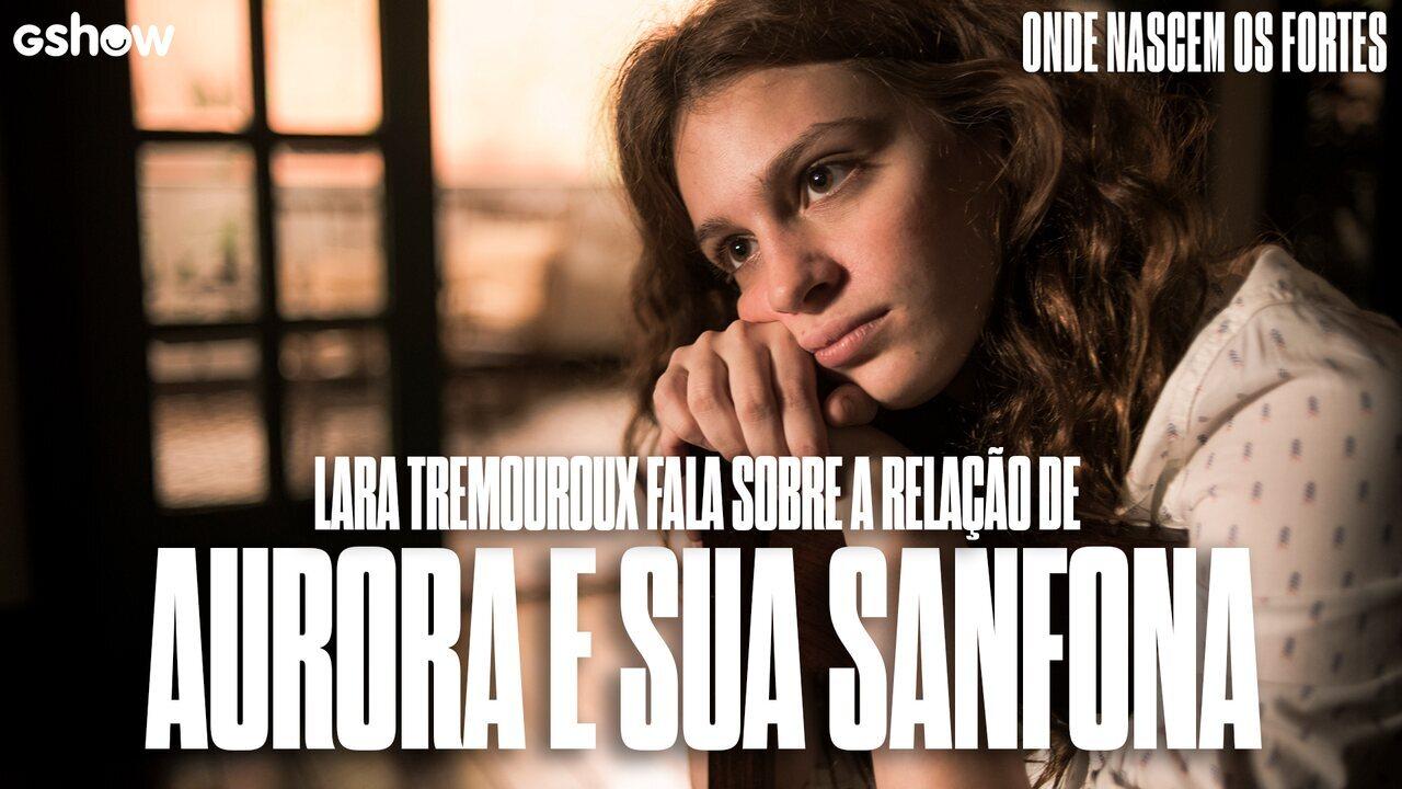 Lara Tremouroux conta curiosidades sobre sanfona utilizada nas cenas de Aurora
