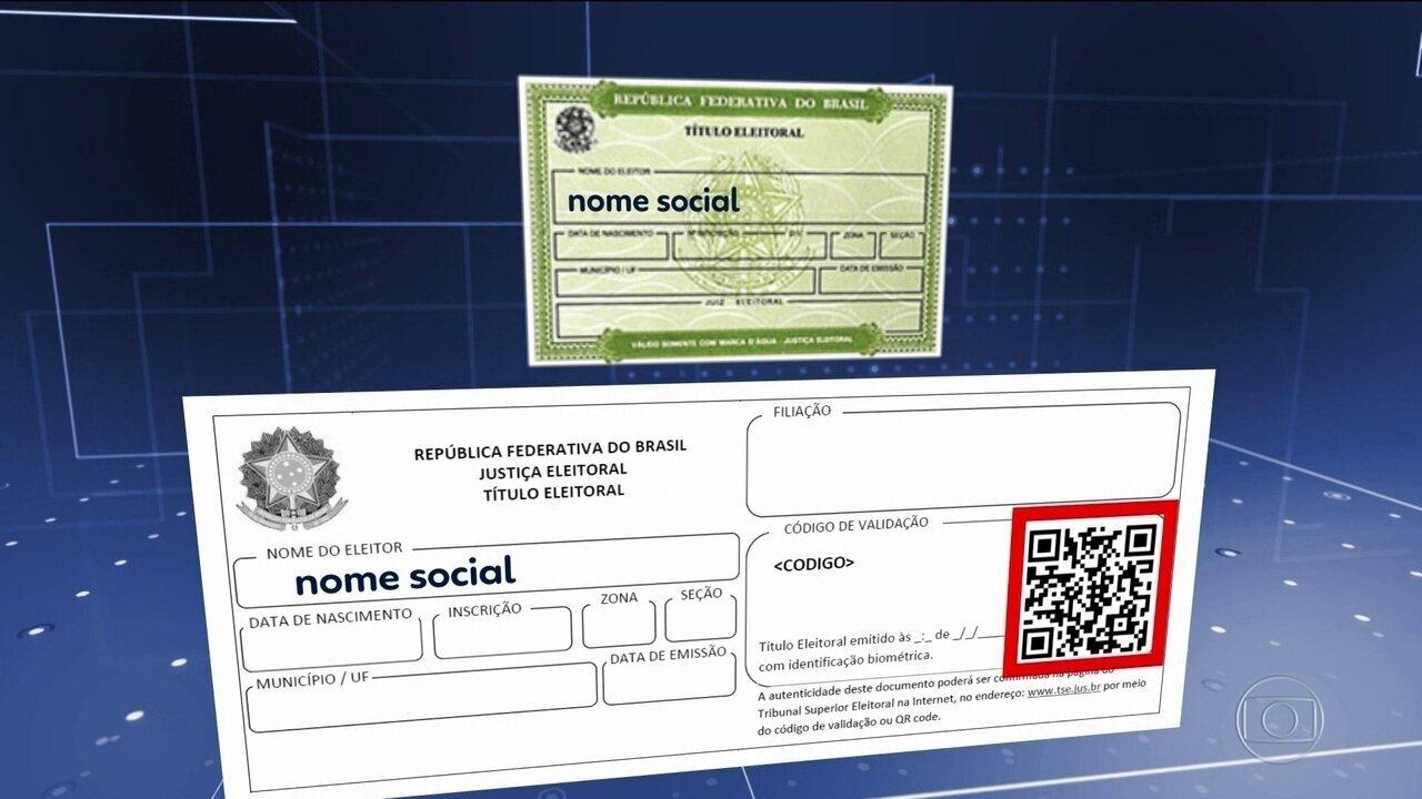 Tansexuais e travestis podem adotar o nome social no título de eleitor
