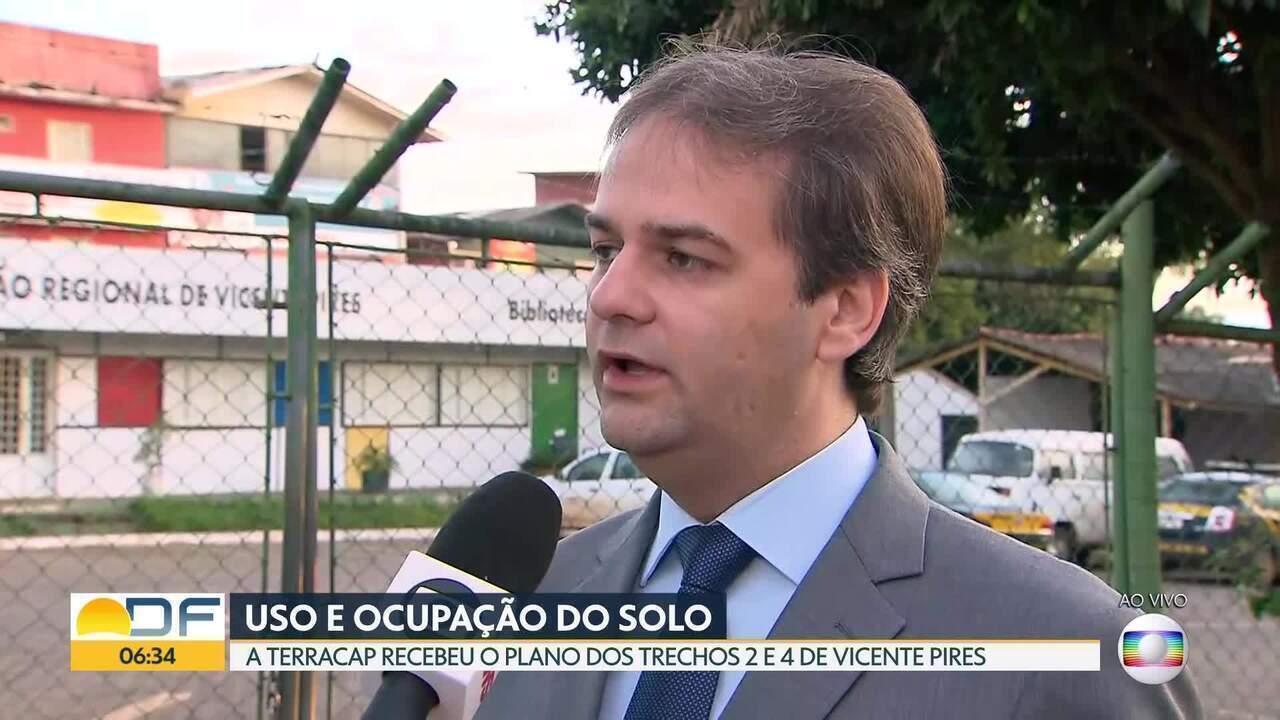 Avança processo de regularização de trechos 2 e 4, em Vicente Pires