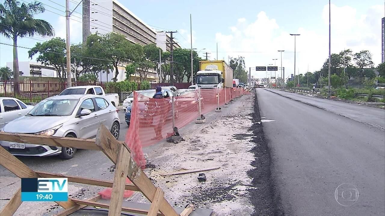 BR-101 passa por recuperação, mas motoristas reclamam de problemas, em Pernambuco