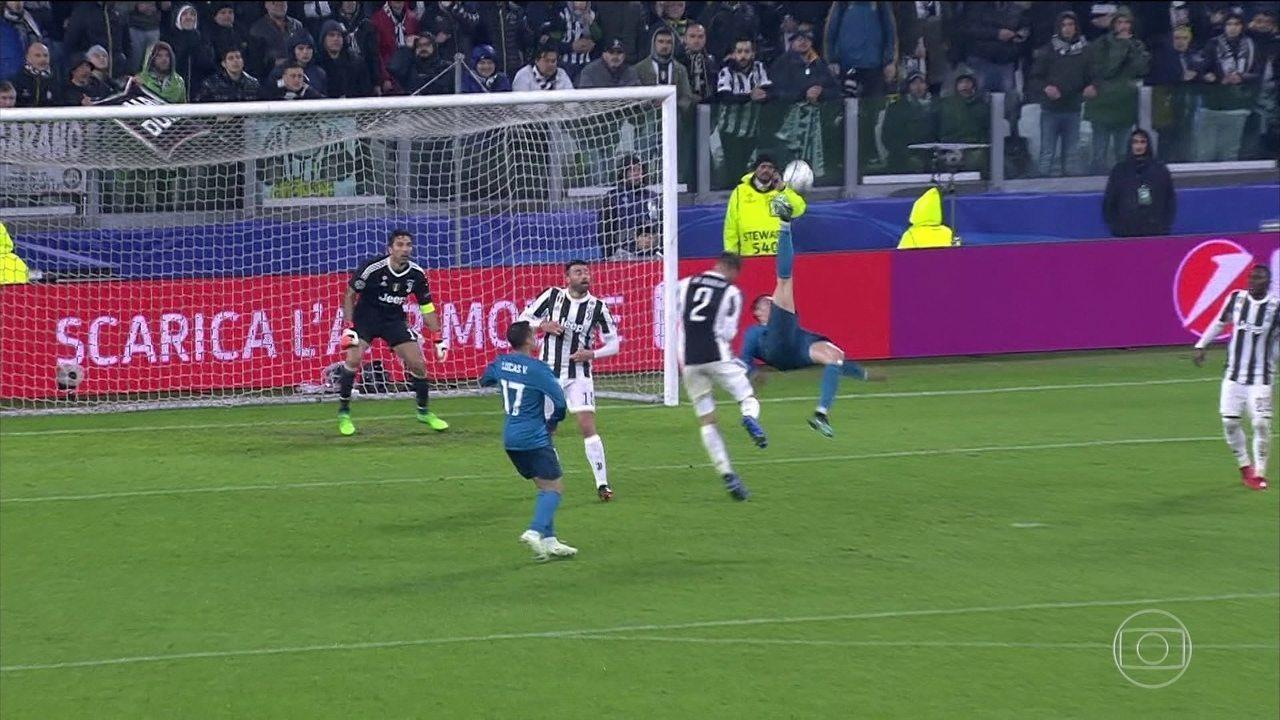 Cristiano Ronaldo faz golaço de bicicleta e Real Madrid vence Juventus a1a0f8c6546d5