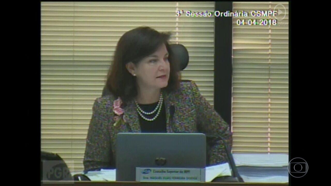 Procuradora-Geral da República, Raquel Dodge defende prisão em segunda instância
