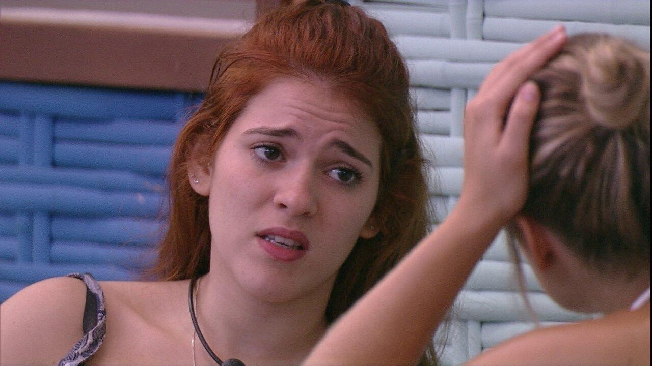 Ana Clara para Jéssica: 'Foi uma surpresa. Fiquei com muita raiva'