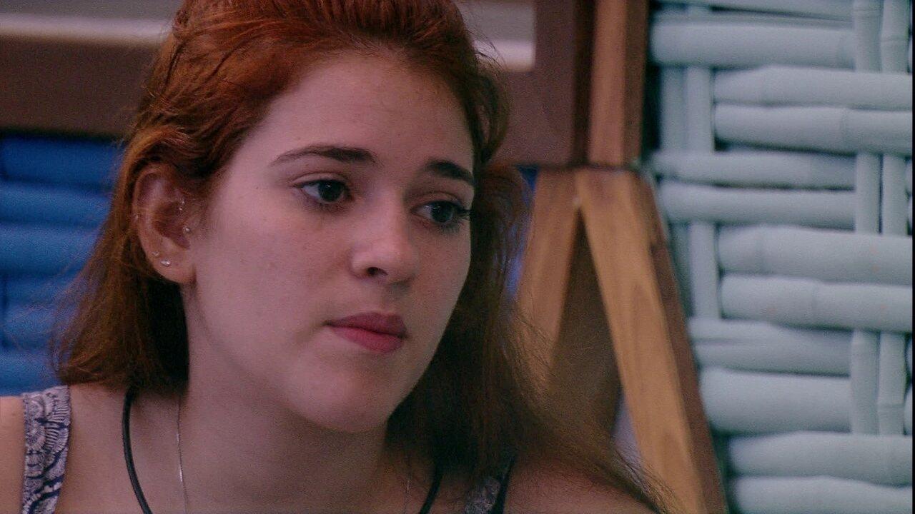 Ana Clara aconselha Jéssica: 'Não seja feita de boba. A gente tem que lembrar do passado'