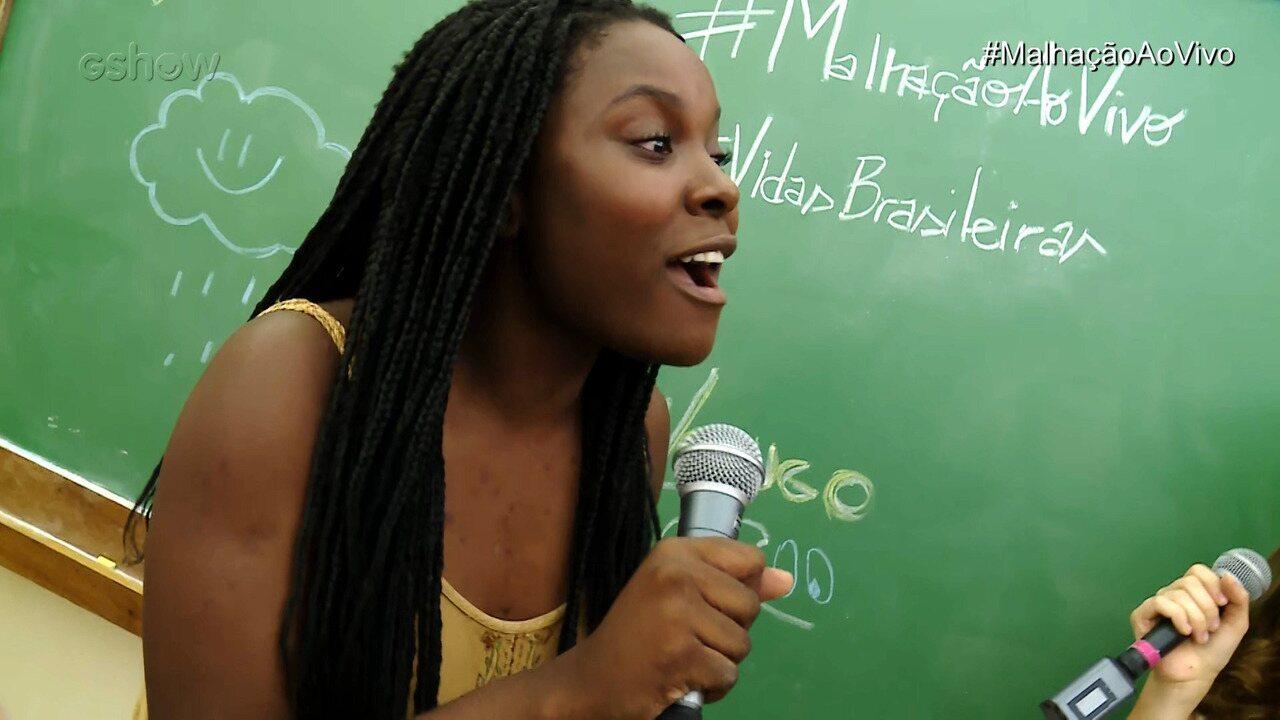 Luellem De Castro arrasa cantando 'Pesadão' da cantora Iza
