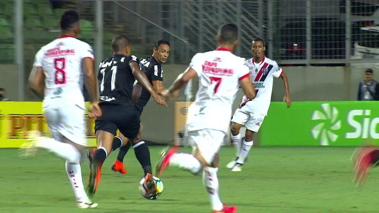 Melhores momentos: Atlético-MG 4 x 0 Ferroviário pela quarta fase da Copa do Brasil