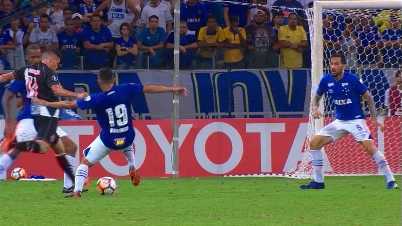 Melhores momentos de Cruzeiro 0 x 0 Vasco pela Libertadores 2018