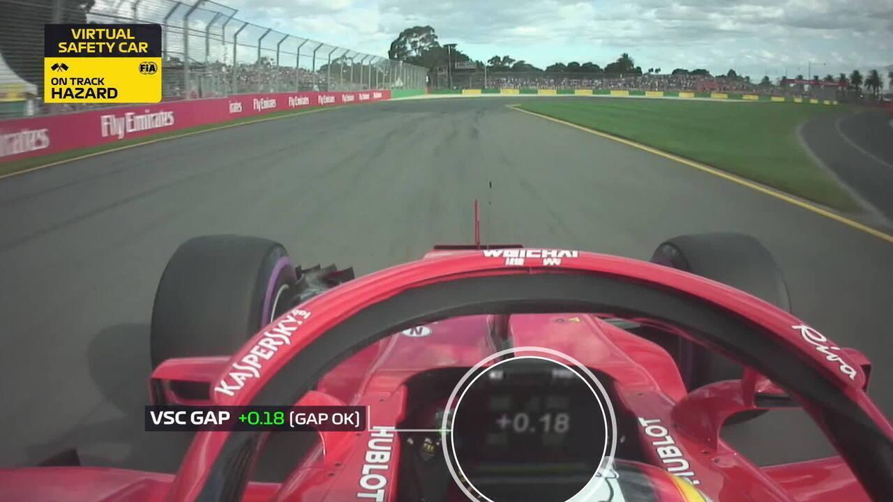 Voando Baixo: câmera onboard de Vettel mostra como o alemão superou Hamilton