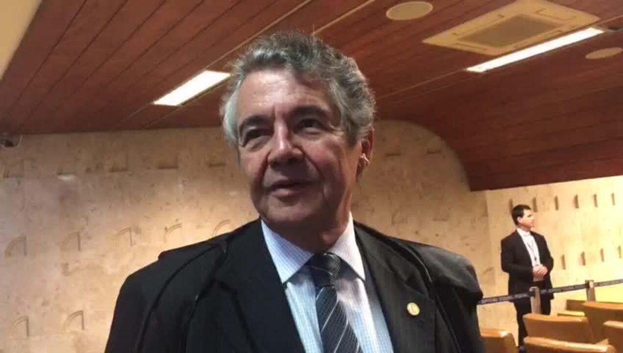 Ministro Marco Aurélio Mello fala sobre liminar para impedir prisão após 2ª instância