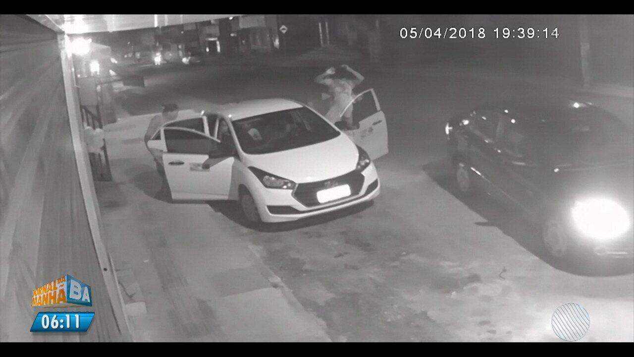 Noite de pânico: bandidos roubam família em Camaçari