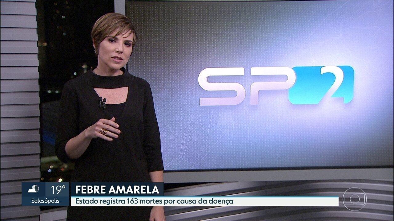 Aumentam os números de casos e mortes por febre amarela no Estado de SP