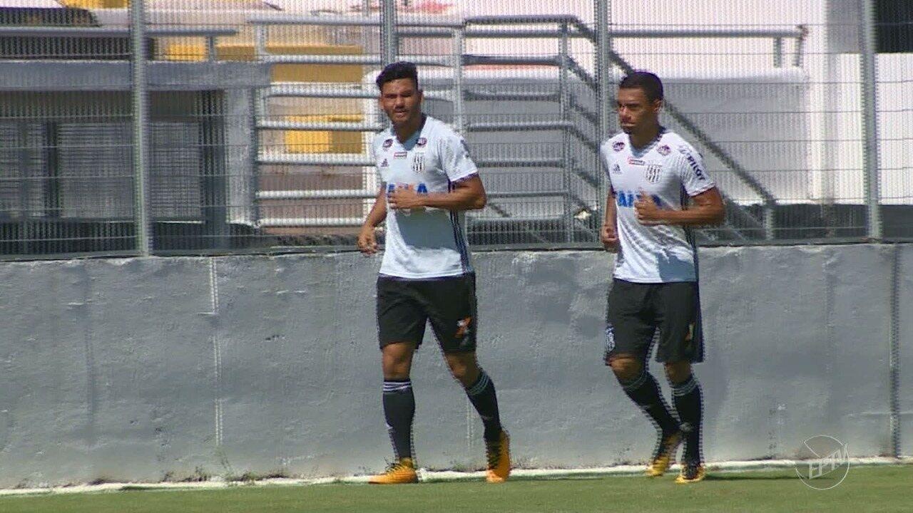 Ponte Preta apresenta novos contratados para a disputa da série B do Campeonato Brasileiro