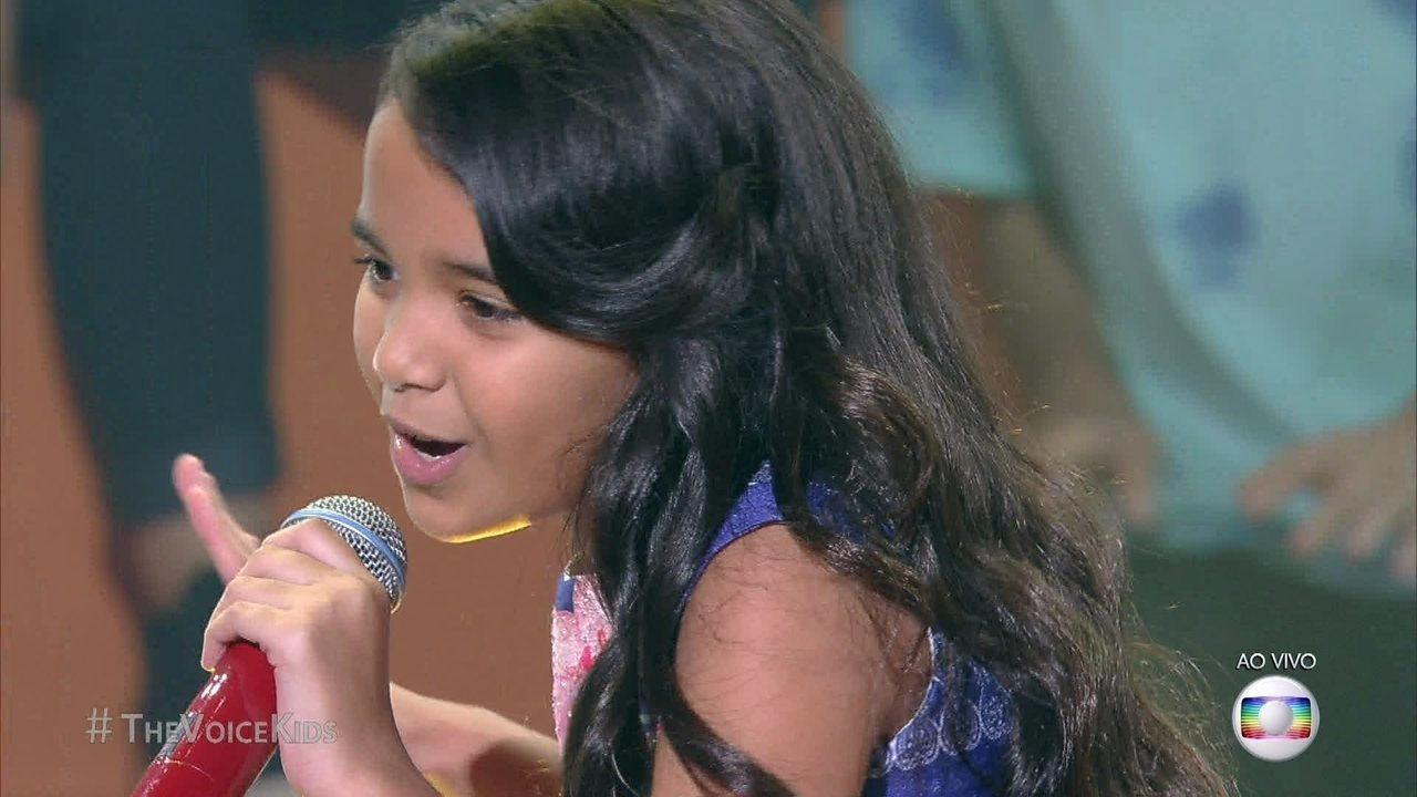 Mariah Yohana cantou 'Não se Reprima' na final do The Voice Kids