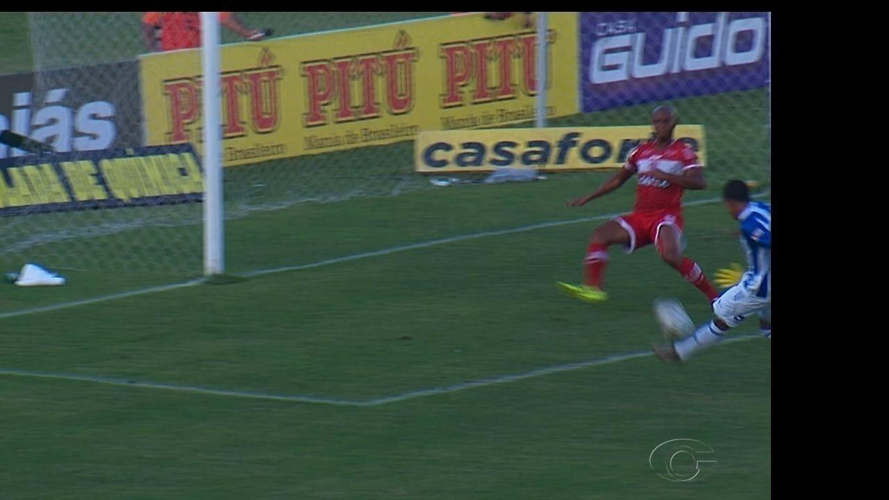 Didira fez gol na final e ajudou o CSA a sair da fila no Alagoano