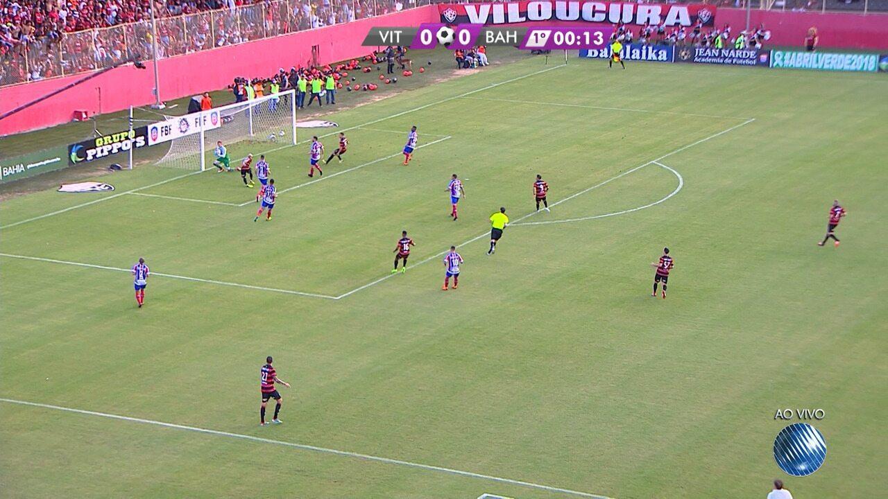 Confira os melhores momentos de Vitória 0 x 1 Bahia na final do Baianão 2018