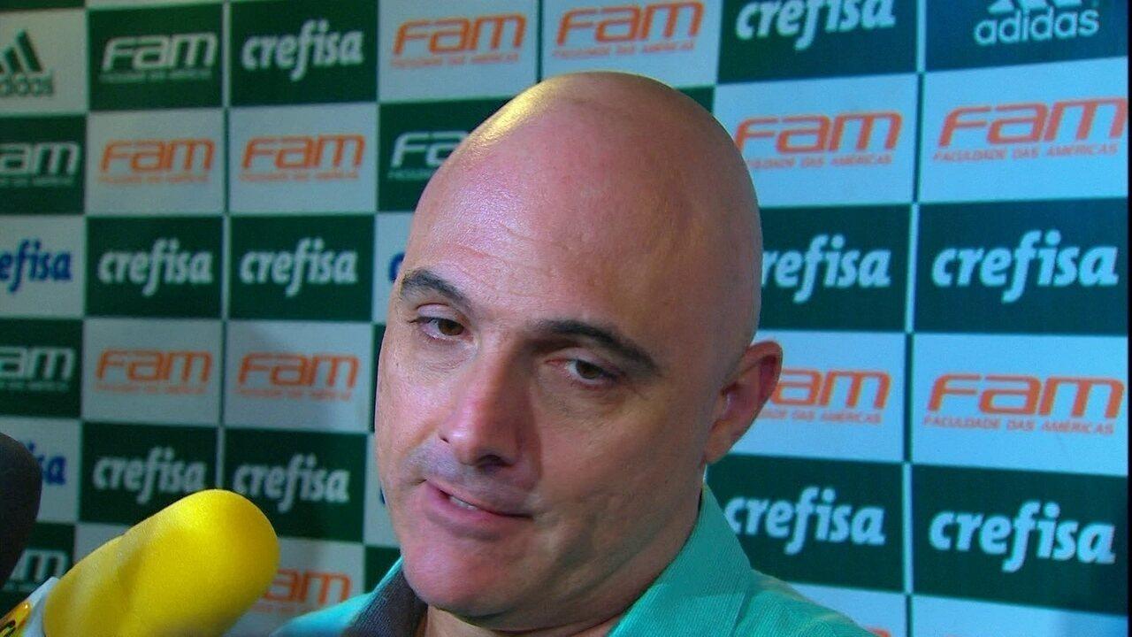 Presidente do Palmeiras diz que houve interferência externa em pênalti cancelado