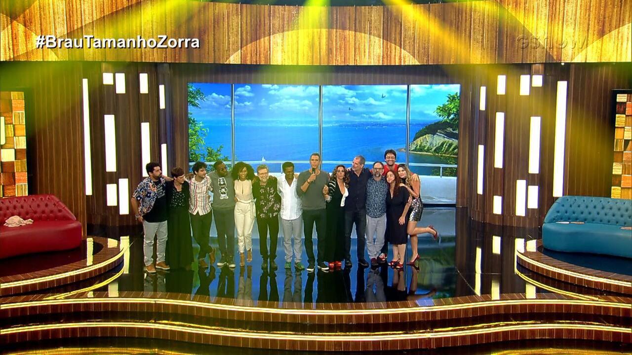 Marcio Garcia recebe 'Mister Brau' e 'Zorra' em lançamento de novas temporadas