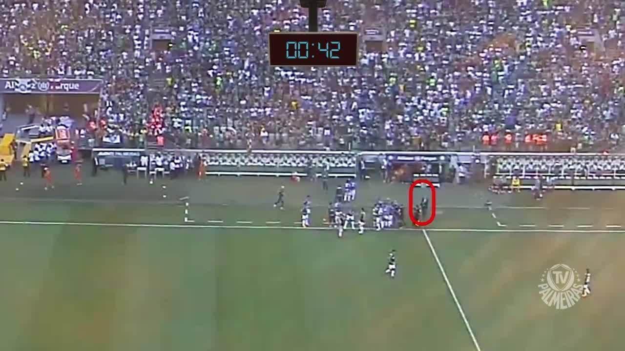 Palmeiras divulga vídeo e diz ter prova de interferência externa na final do Paulistão