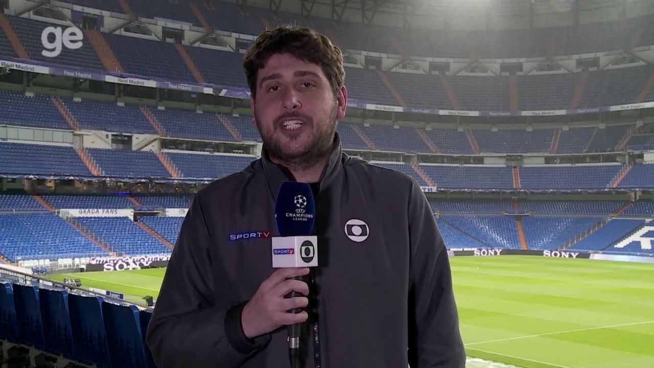 Colin Vieira traz as últimas notícias sobre o jogo entre Real Madrid e Juvetus