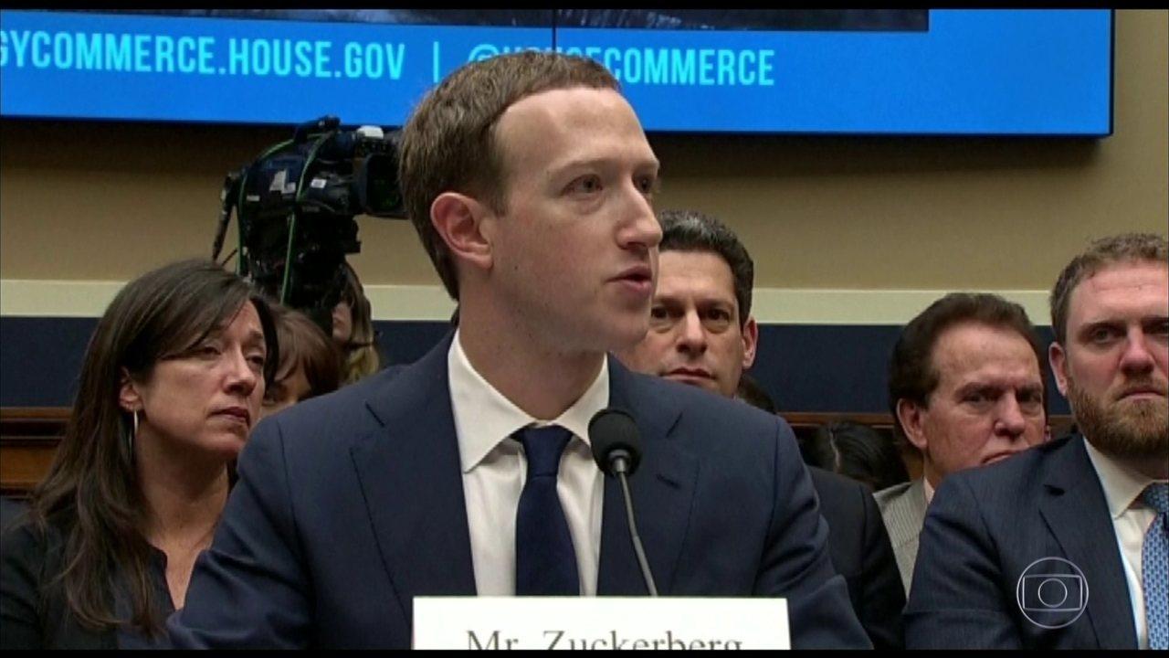 Marck Zuckerberg presta esclarecimentos, pelo segundo dia, no congresso americano