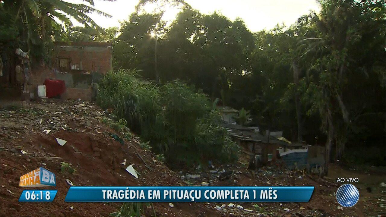 Tragédia em Pituaçu completa um mês; quatro pessoas morreram no desabamento