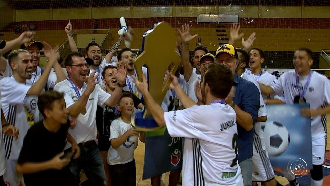 Itu e Jundiaí são campeões da Copa TV TEM de Futsal na região