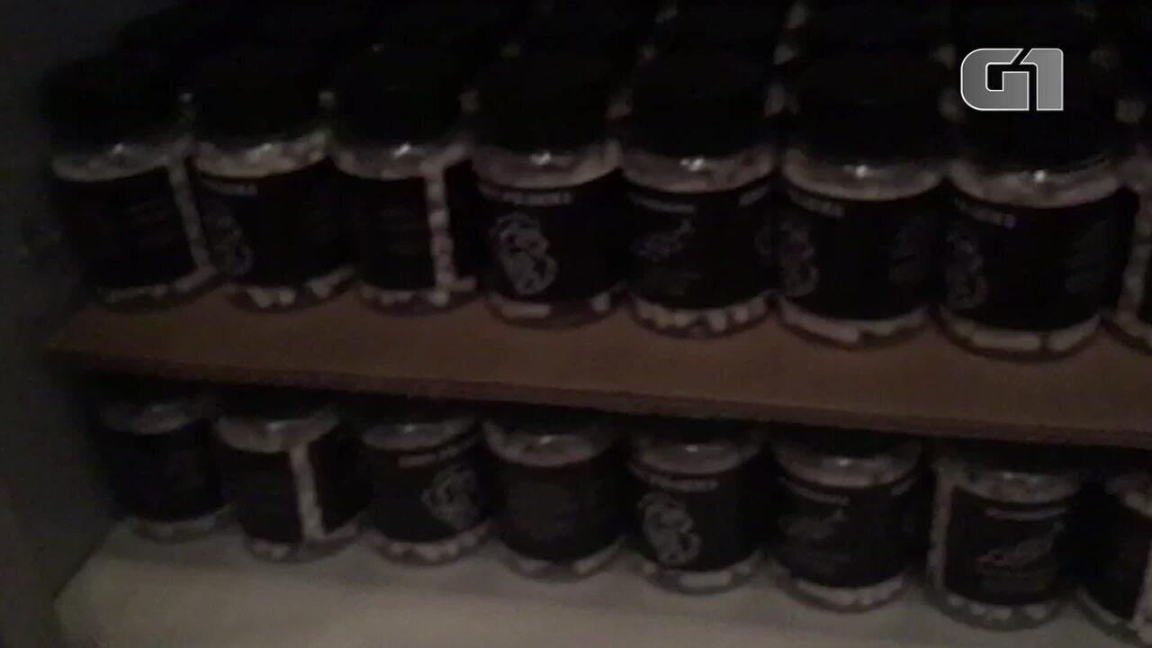 Polícia prende suspeito de vender anabolizantes