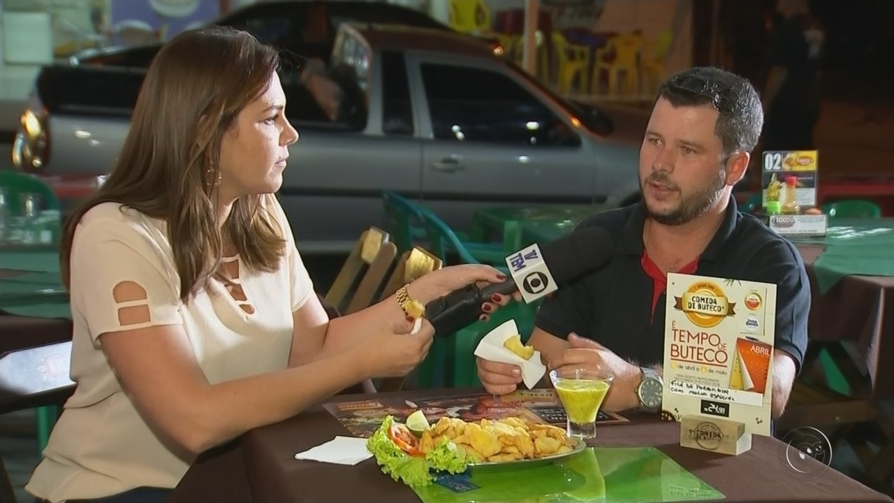 Comida Di Buteco começa em Rio Preto e reúne 16 bares