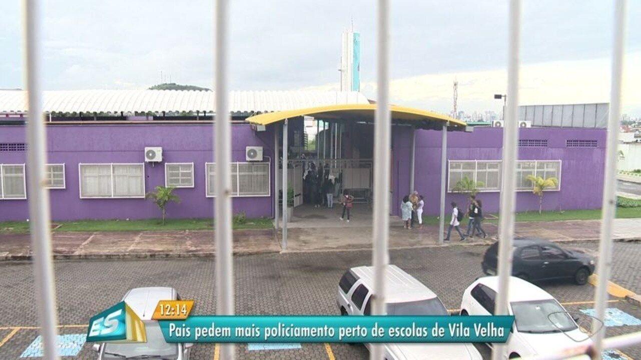 Mãe de aluno reclama de assaltos em frente à escola em Vila Velha, ES