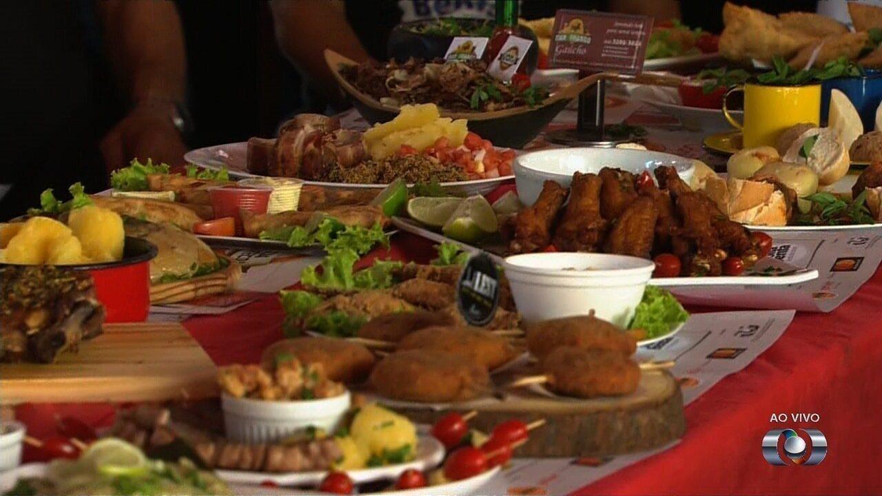 Começa o Comida di Buteco, em Goiânia