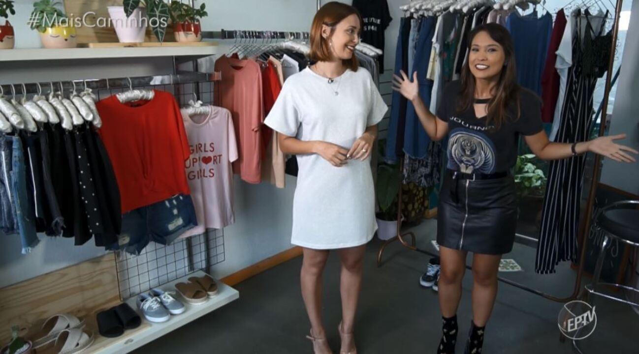 Cris Ikeda traz dicas de moda usando a camiseta