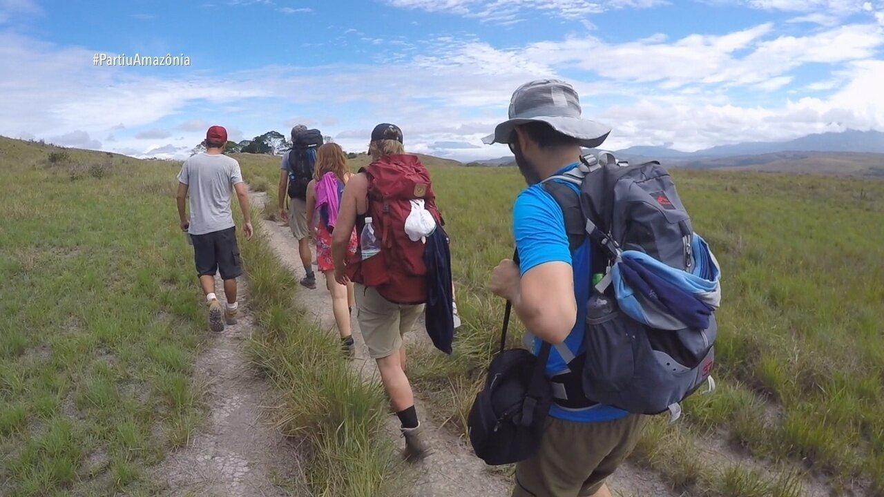 Parte 1: Moacyr começa expedição para o Monte Roraima