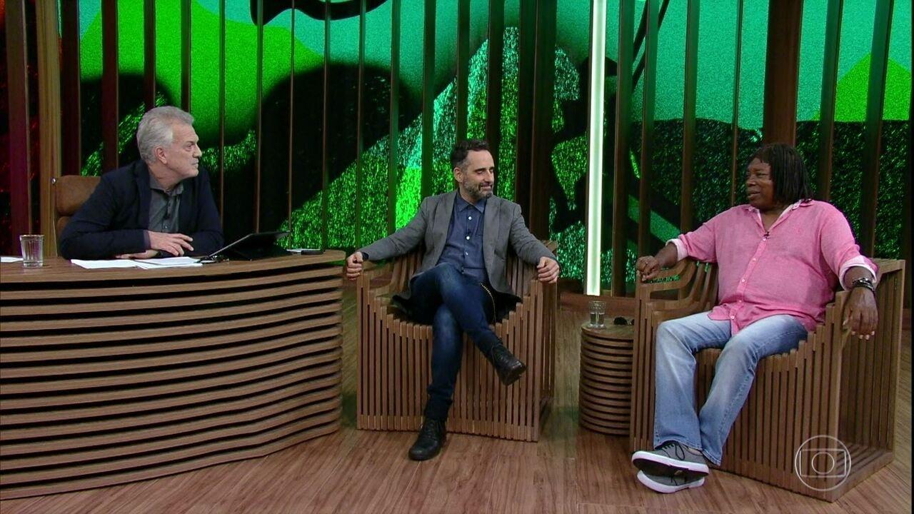 Milton Nascimento fala sobre parceria com Tiago Iorc