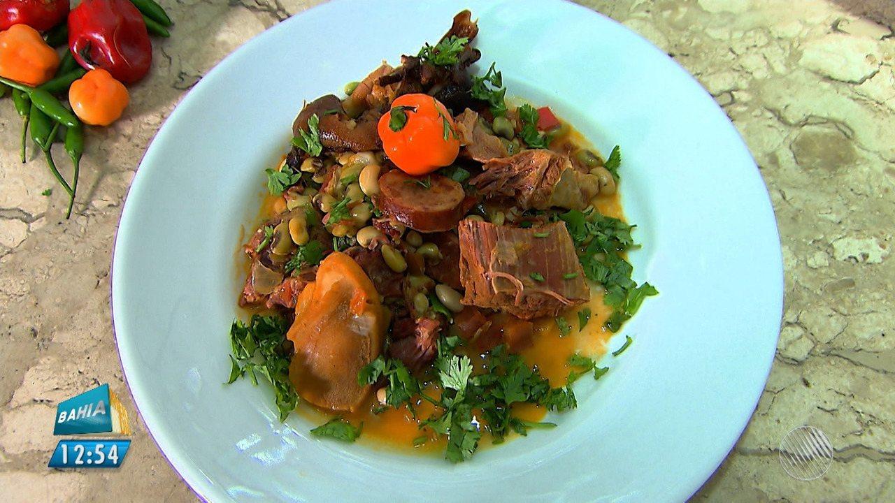 Panela de Bairro: veja a receita de uma feijoada diferente, preparada com feijão verde