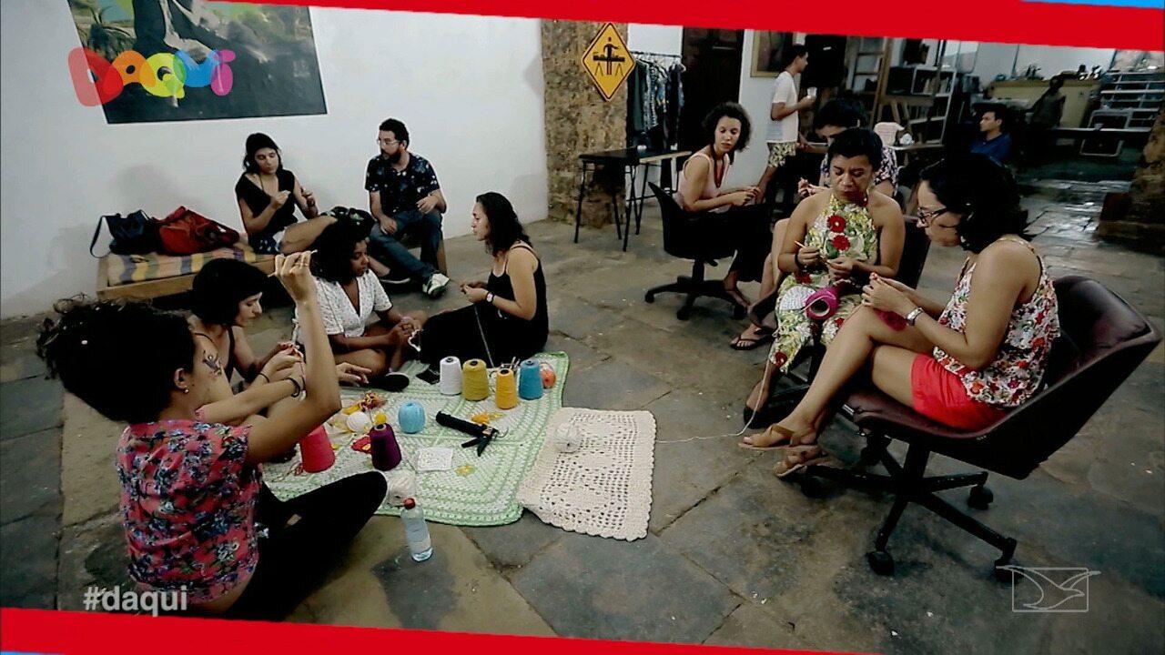 Coletivo Linhas leva beleza e resistência as ruas de São Luís