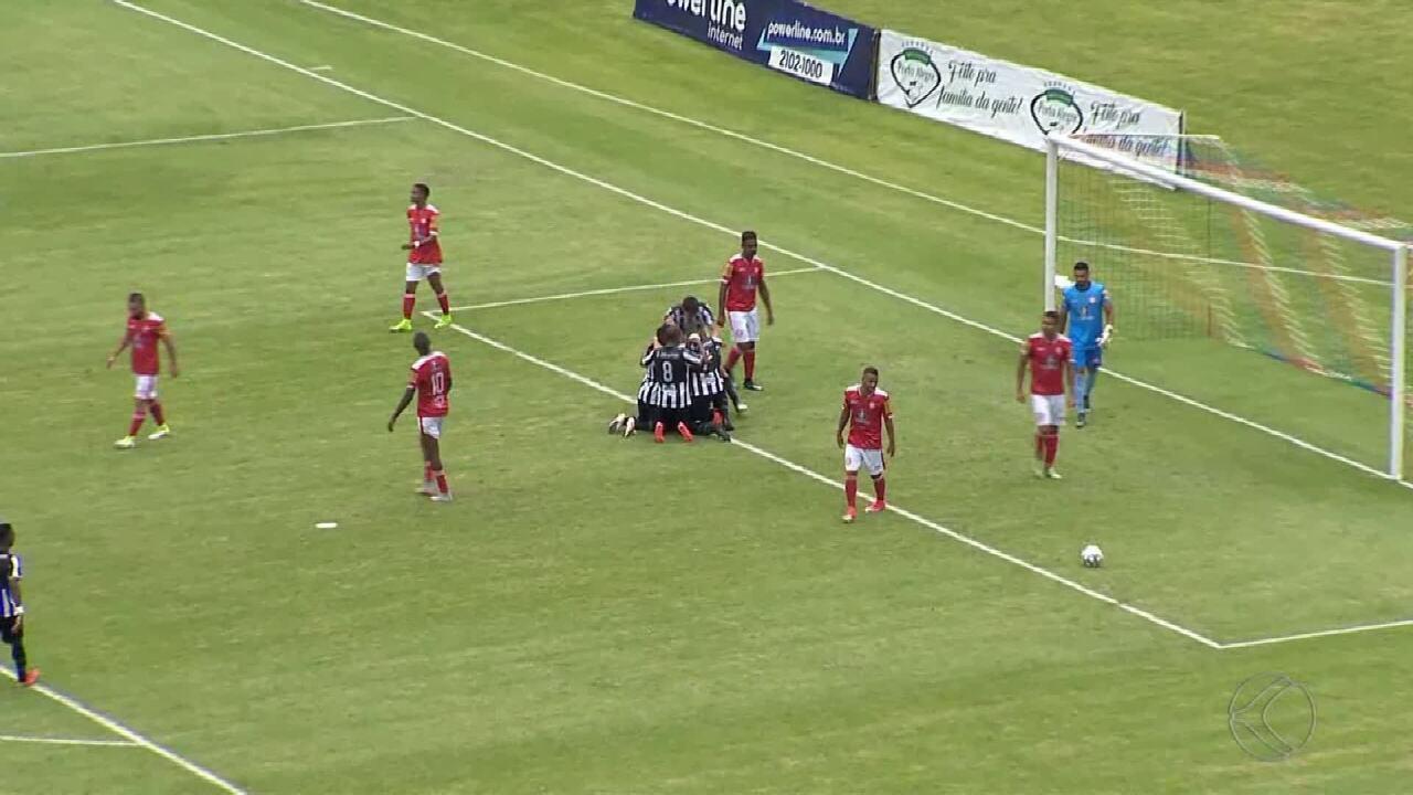 Reis marca e Tupi vence Tombense pela Série C do Campeonato Brasileiro