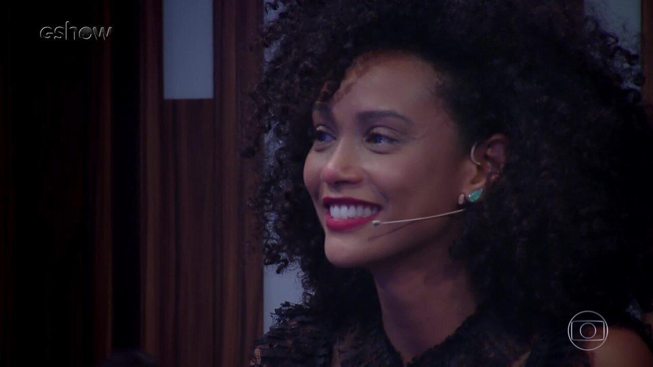 Veja o bastidor da homenagem para atriz Taís Araújo no Tamanho Família